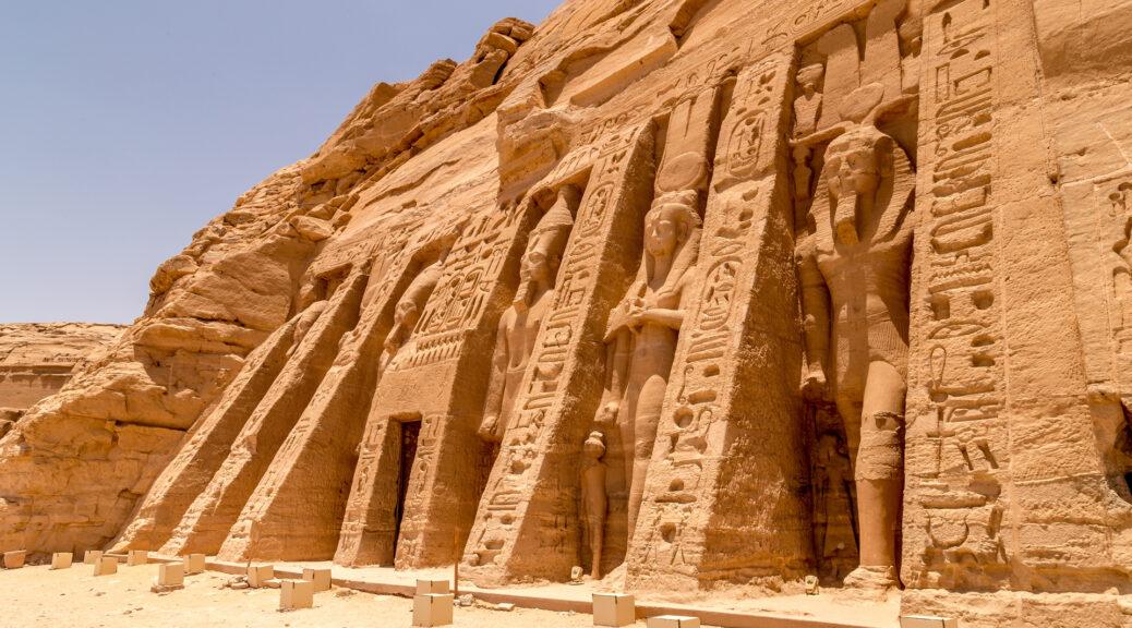 Zobacz świątynię faraona bez wychodzenia z domu